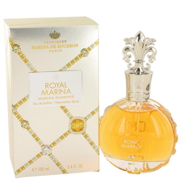 Royal Marina Diamond by Marina De Bourbon Eau De Parfum Spray 3.4 oz for Women