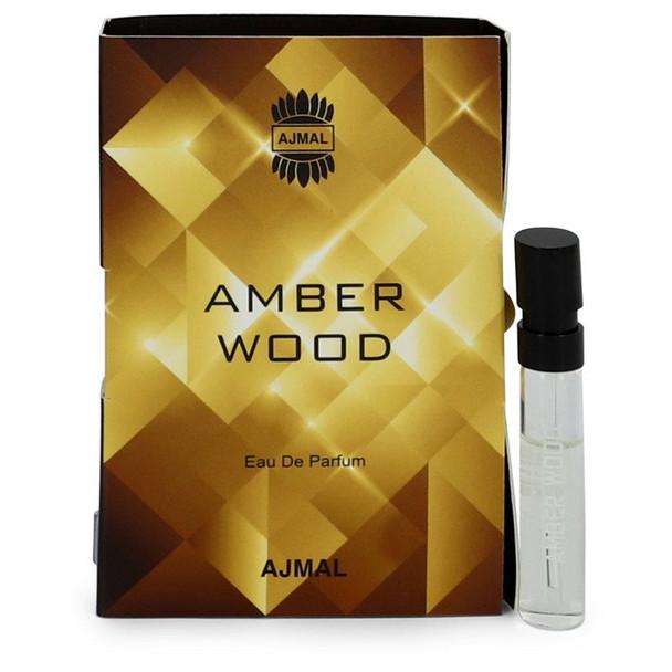 Ajmal Amber Wood by Ajmal Vial (sample) .05 oz  for Women