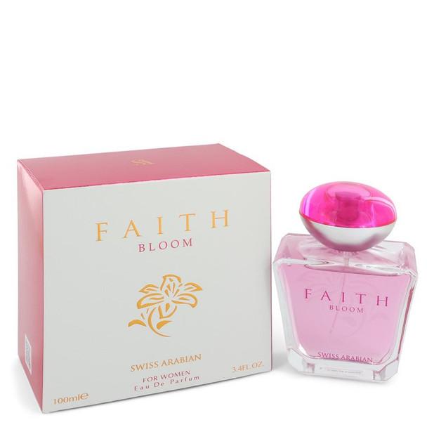 Swiss Arabian Faith Bloom by Swiss Arabian Eau De Parfum Spray 3.4 oz for Women