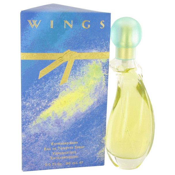 WINGS by Giorgio Beverly Hills Eau De Toilette Spray for Women