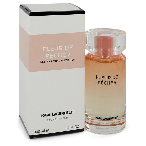Fleur De Pecher by Karl Lagerfeld Eau De Parfum Spray 3.3 oz for Women
