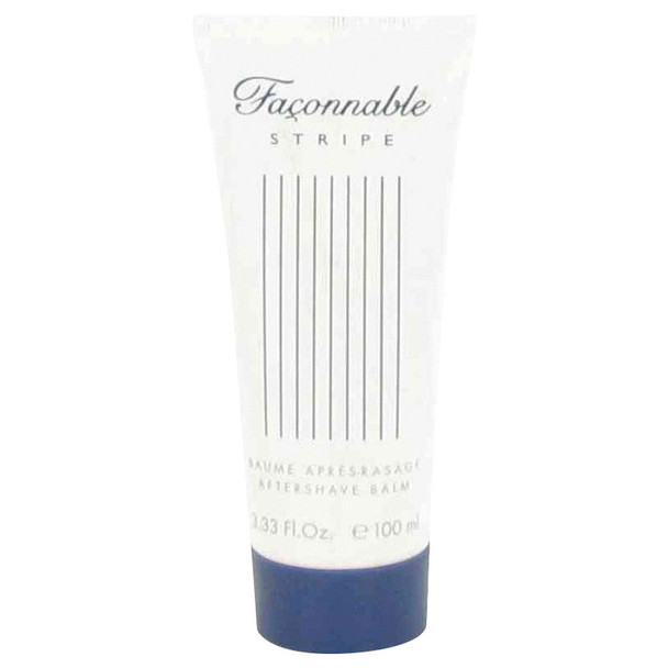 Faconnable Stripe by Faconnable After Shave Balm 3.4 oz for Men
