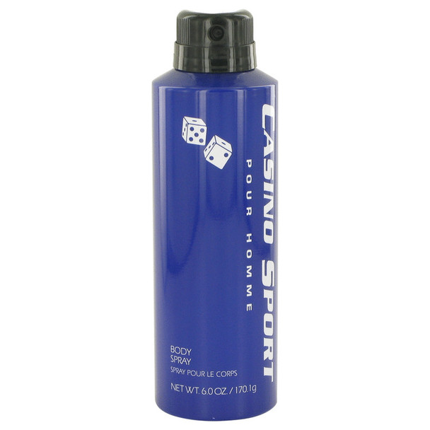 Casino Sport by Casino Perfumes Body Spray (No Cap) 6 oz for Men
