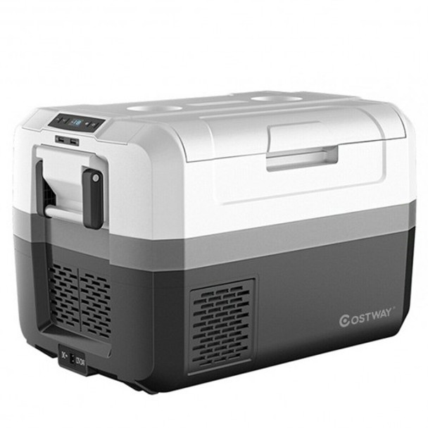 48 Quart Portable Electric Car Camping Cooler