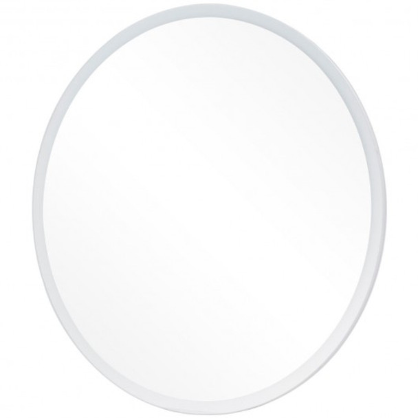"24"" LED Illuminated Light Wall Mount Bathroom Round Mirror"