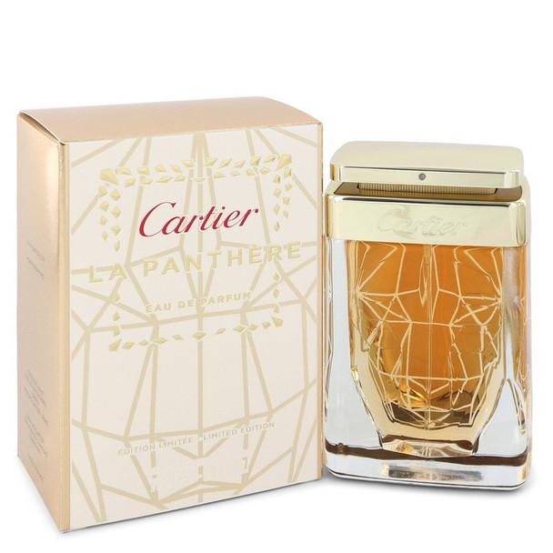 Cartier La Panthere by Cartier Eau De Parfum (Spray Limited Edition) 2.5 oz for Women