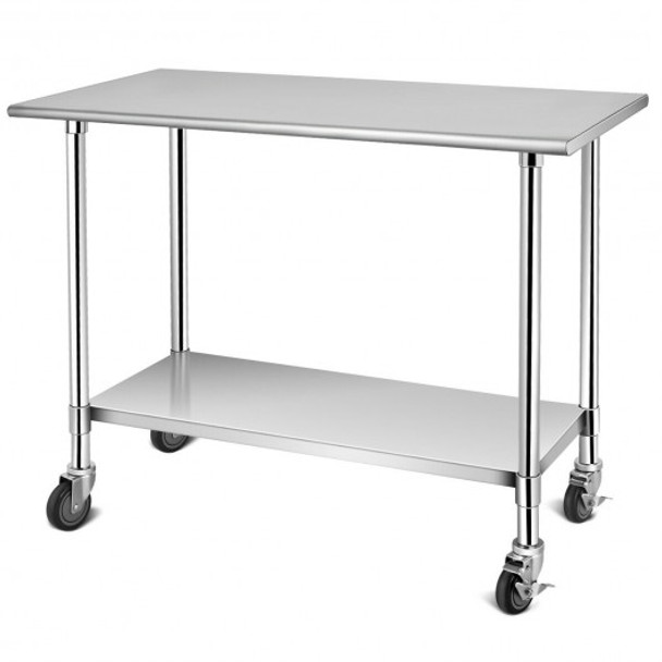 NSF Stainless Steel Commercial Kitchen Prep & Work Table - COTL35267