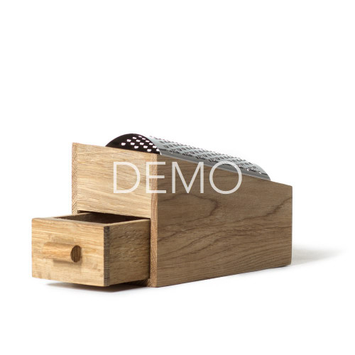 [Sample] Oak Cheese Grater