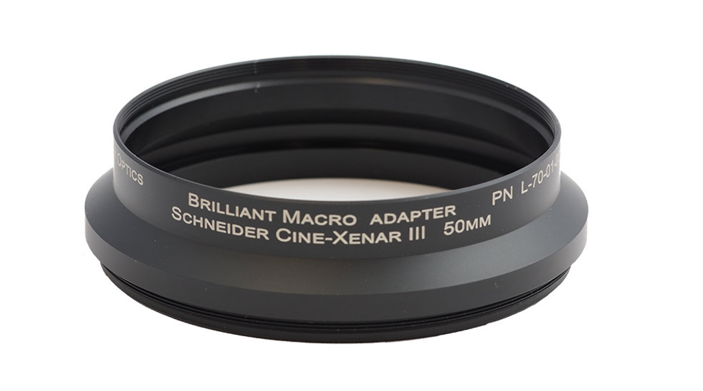 Brilliant Adapter - M100 x 0.75 x 29L  Schneider Cine-Xenar 50mm