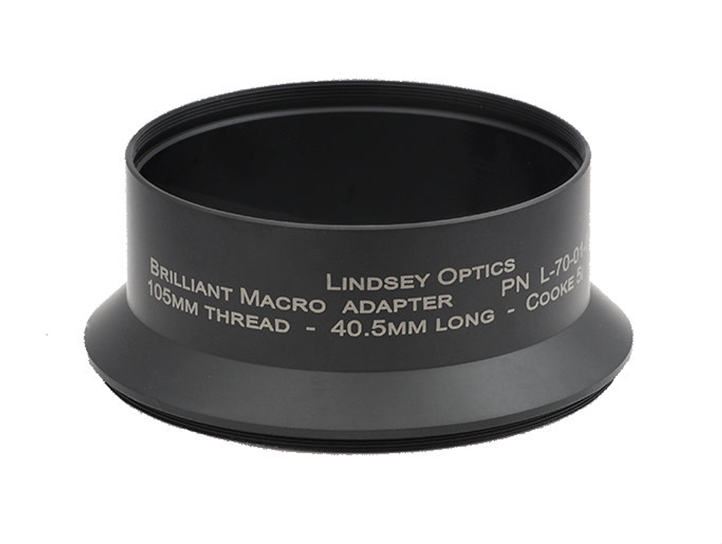 Brilliant Adapter - M105 x 0.75 x 44.5L - Cooke 5i 50mm