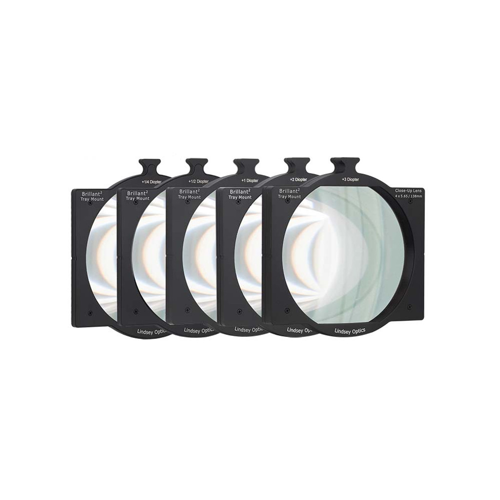 "Lindsey Optics 4""x5.65"" Brilliant² Tray Mount Diopter Set"