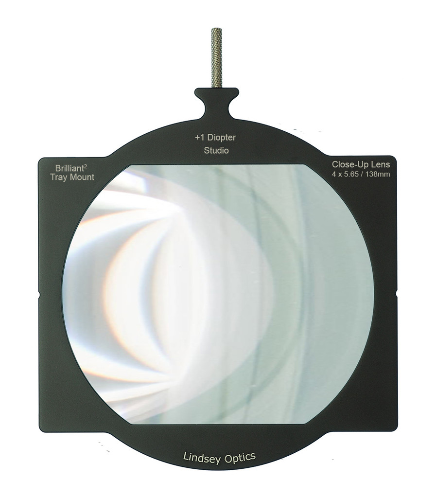 Lindsey Optics Tray Mount Studio Close-Up Lens +1 Diopter