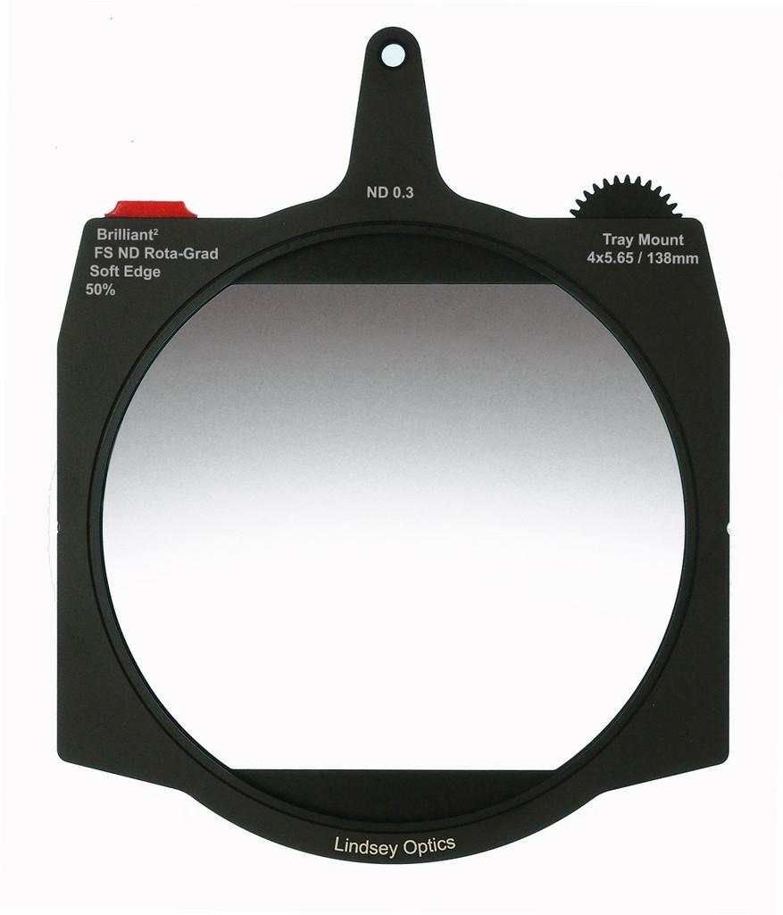 Lindsey Optics FS ND 0.3 Rota-Grad, A Full Spectrum ND 0.6 Graduated Neutral Density Filter