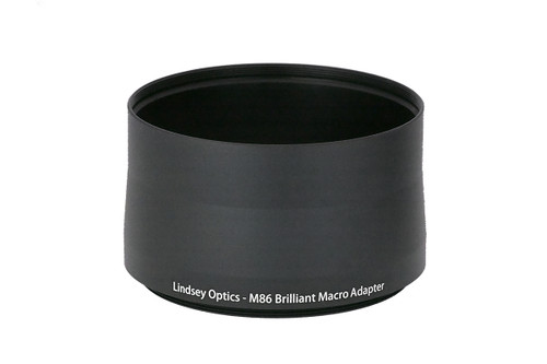Brilliant Adapter - Adapts Brilliant Macro lenses to lenses with 77mm filter thread