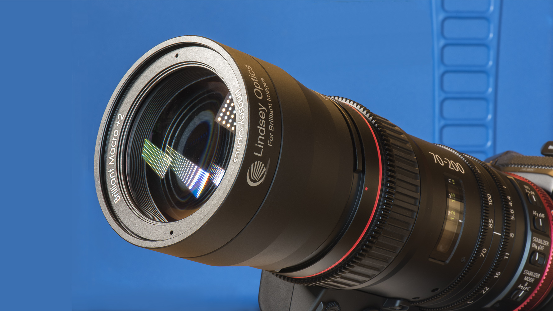 Lindsey Optics Brilliant Macro on Canon 17-120