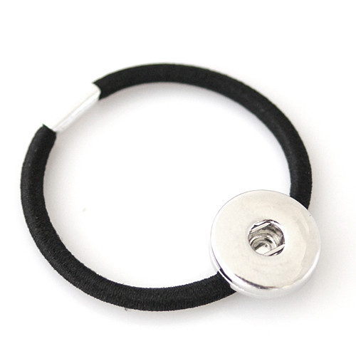 Black Stretch Hair Tie