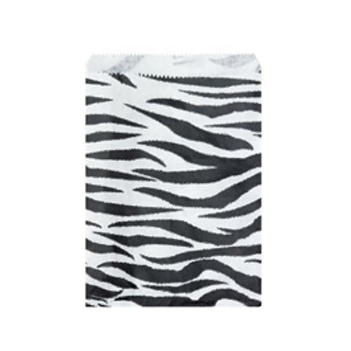 24 (6x9) Zebra Bags