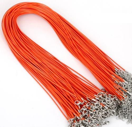Chain - Vegan Leather Orange
