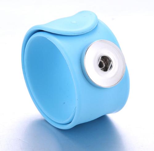 Slap Bracelet - Aqua Blue
