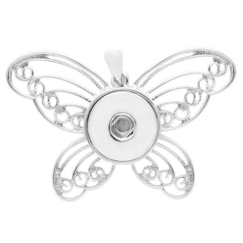 Butterfly Chic - Silver Tone