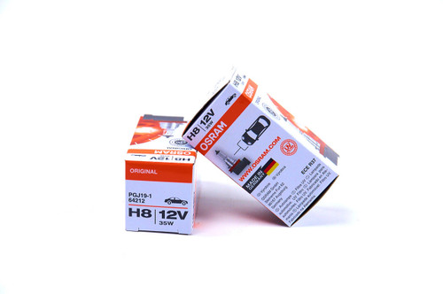 Osram H8 Original Line bulb is the halogen bulb that comes standard with most vehicle lighting systems.