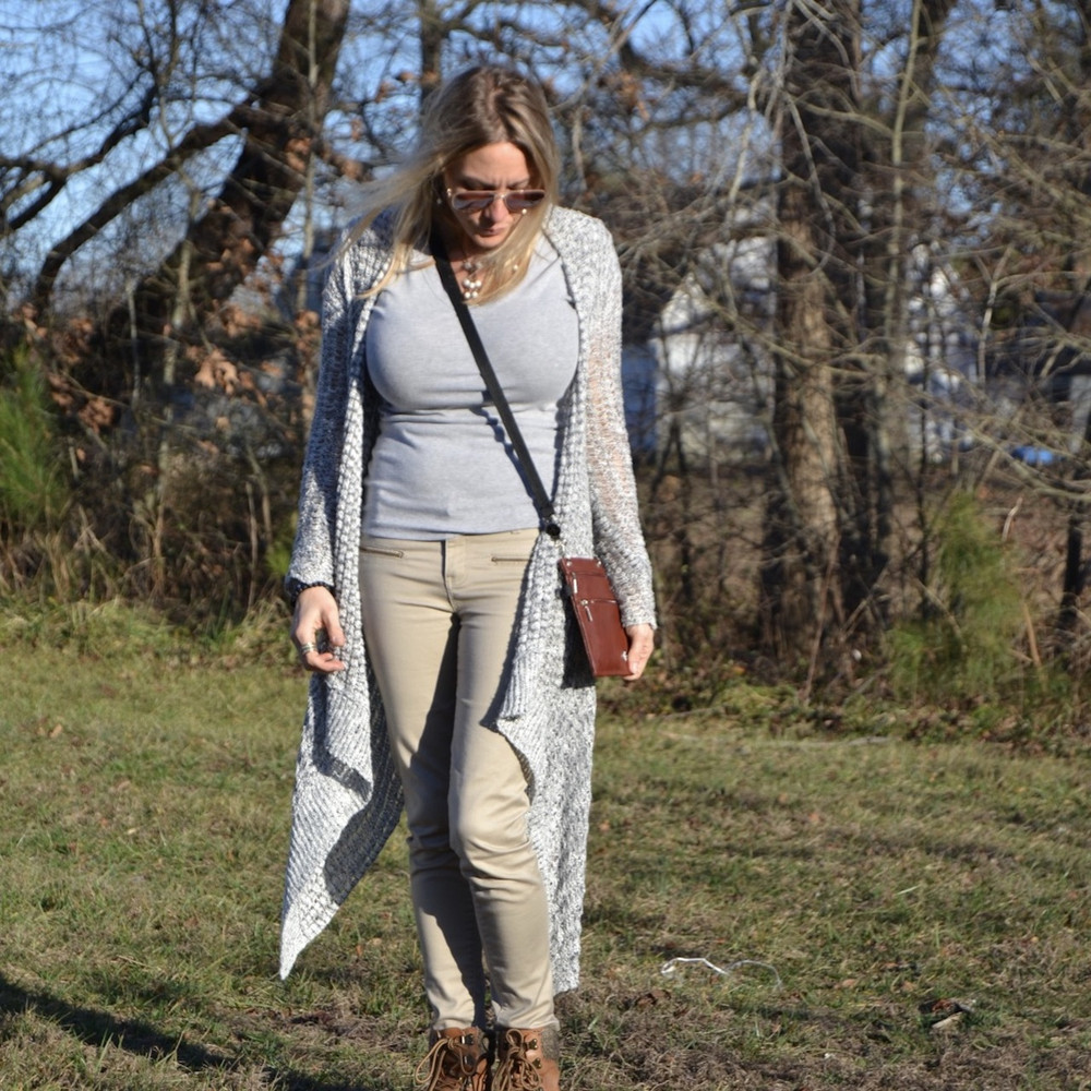 """Oxford Belt can be used as a Crossbody. Belt extends 25""""-50"""". (The Hip Klips add an additional 2"""" to the length). Model is 5'6"""" and has the Oxford Belt extended at 45"""" in image shown."""
