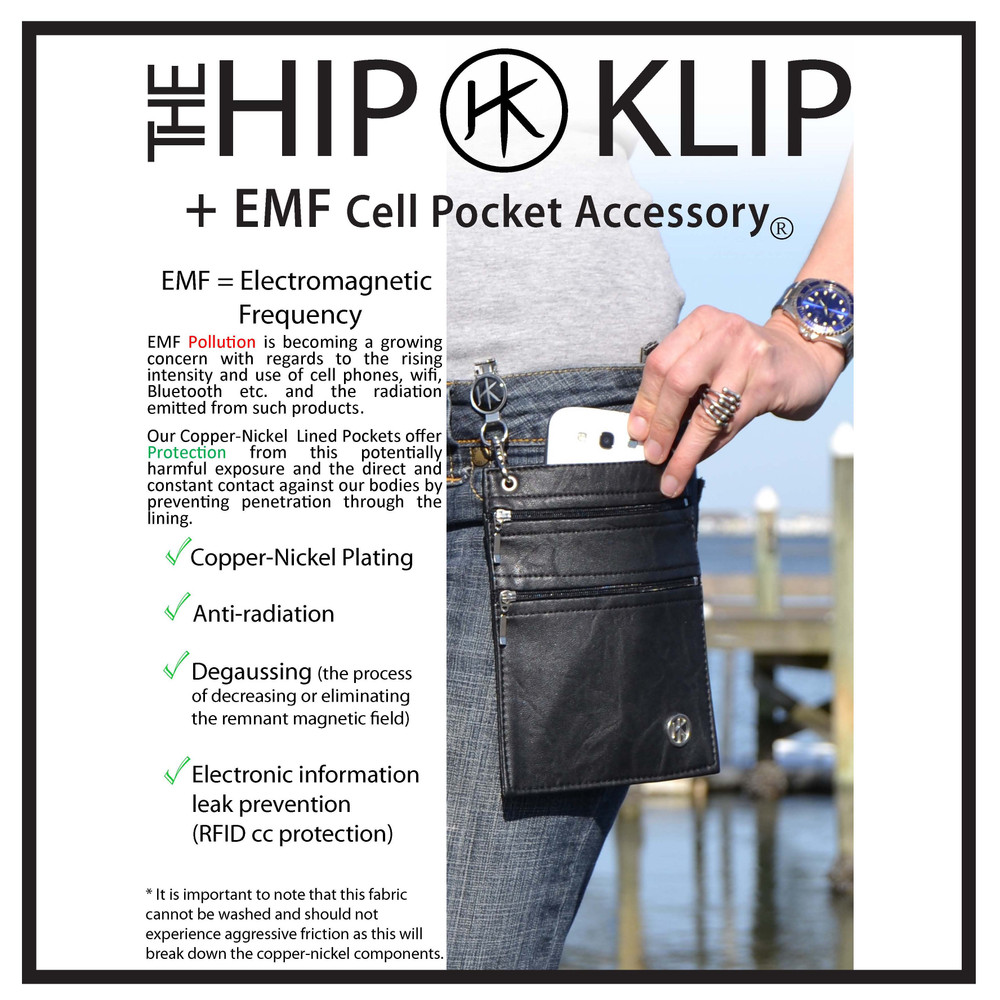 """Add an Oxford Belt or Chain Strap to turn pocket into a cross-body, shoulder strap, or waist strap. These items can be found in our Accessories Section. Add Extension Chains to adjust the  position of where the Pocket hangs, up to 7"""".  Perfect for high-waisted pants and fuller figures."""