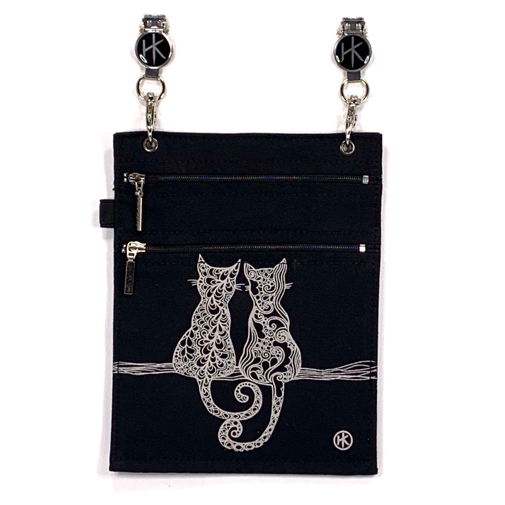 EMF/RFID Cat Duo Black XL