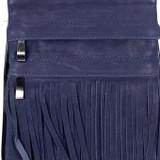 Genuine Leather Vertical Gypsy Ocean Blue