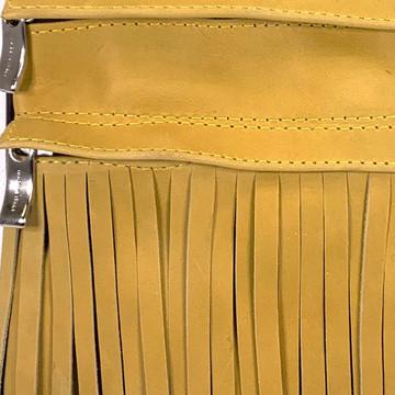 Genuine Leather Vertical Gypsy Sunflower