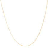 """SBCNL-101 - 2.5 gr. - Solid Box Chain Necklace - 20"""" (+ add $175)"""