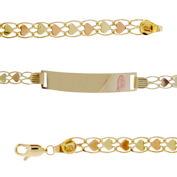 Forever 15 - Yellow /  Red Gold Bracelet - 7.5 gr - XVP-301