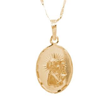 First Communion 3 Gold Pendant - 14 K.  1.7 gr. - FC272
