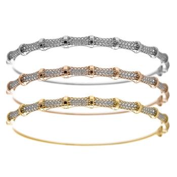 Yellow, White, Red Gold Bracelets - 18.9 gr - BLG-700