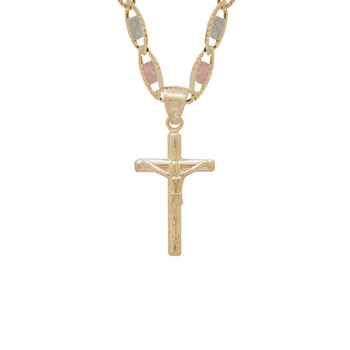 Yellow Gold Cross - 14 K - PTC222