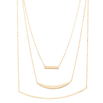Gold Pendant and Chain Set - 14 K - JST389 5.7 Gr