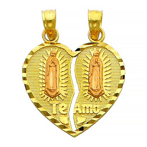 Yellow Gold Pendant - 14 K - PT401