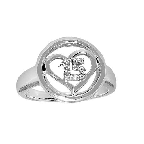Forever 15 – Silver Ring with CZ - 4.6 gr. - FFS02