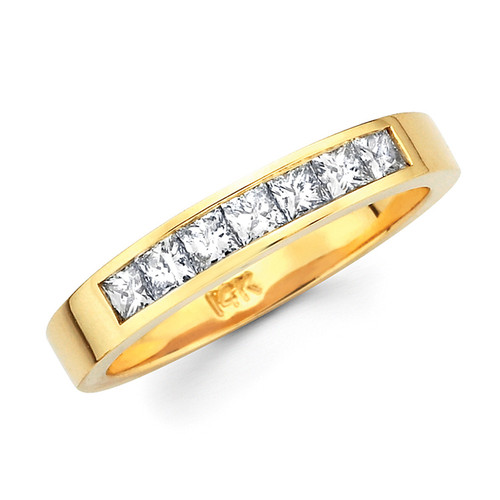 Diamond / Gold Wedding Band - 5.2 gr. - BD4-7