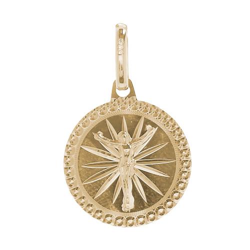 Yellow Gold Medal - Jesus - 14 K - 0.9 gr. - RP022