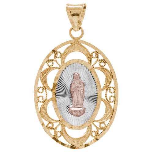 Yellow Gold Medal - Virgin Mary - 14 K - 1.5 gr. - RP151