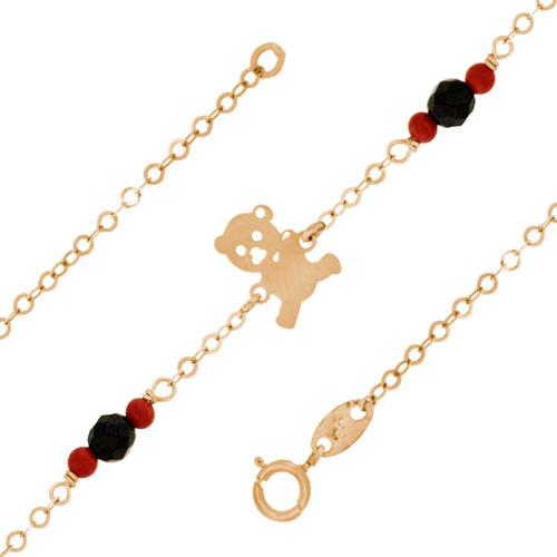 Yellow Gold Bracelet - 1.0 gr - BLG-713