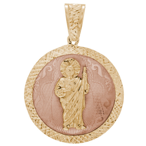 Yellow / Red Gold St. Jude Medal - 14 K - RP241