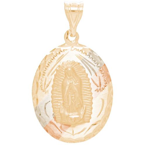 Three Gold Medal - Virgin Mary - 14 K - RP275