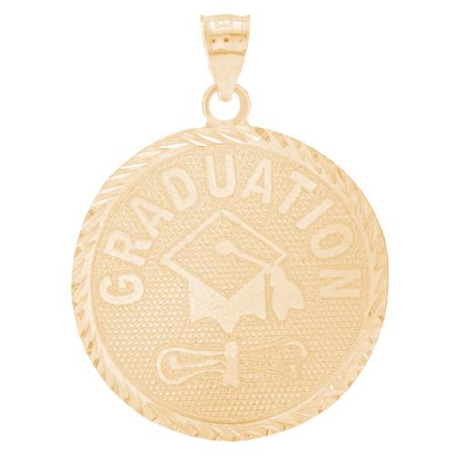 Yellow Gold Graduation Charm - 14 K - GRCH-169