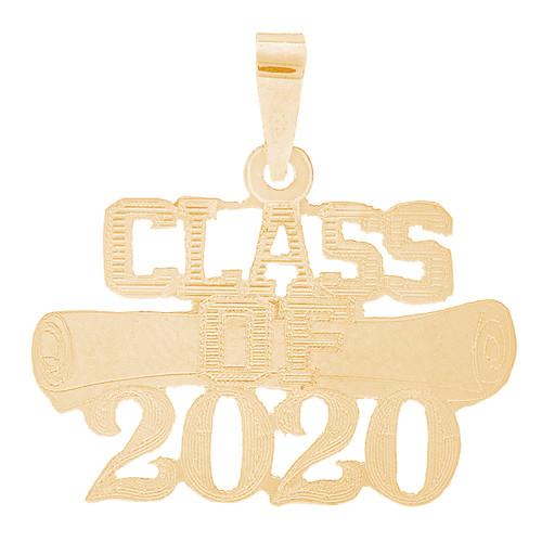 Yellow Gold Graduation Charm - 14 K - GRCH-171