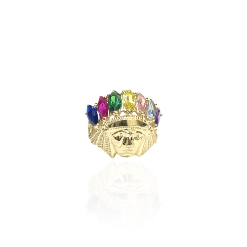 14kt Indian Head Ring - S - 36811