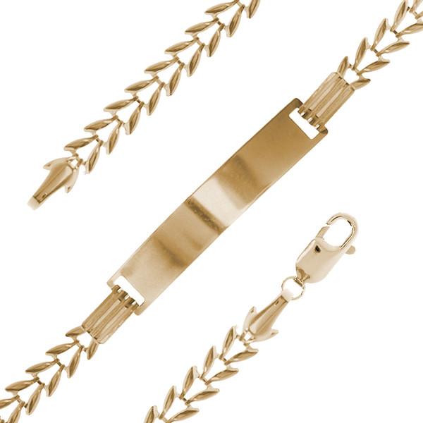 Yellow Gold Baby Bracelet - 2.6 gr - BLG-638