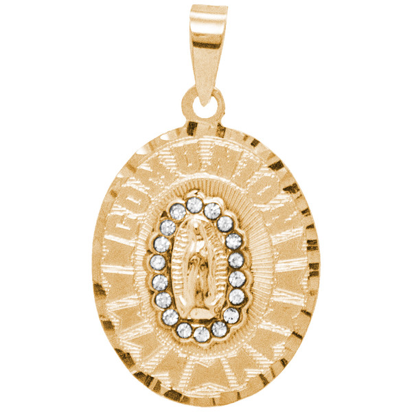 First Communion Gold Pendant - 14 K.  1.9 gr. - FC311