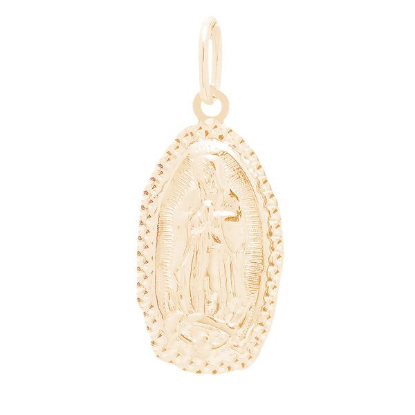 Yellow Gold Pendant  - Virgin Mary - 14 K - RPVG-190